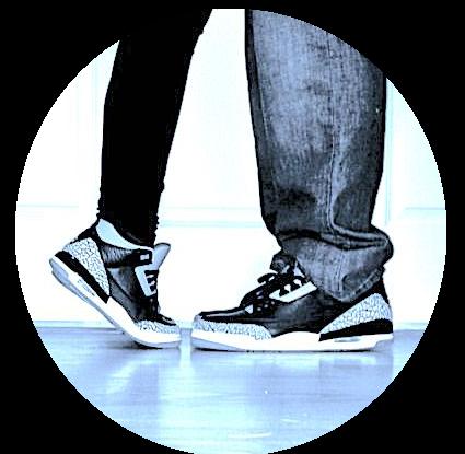 Pärchensneaker aus der Sneakermanufaktur Linz