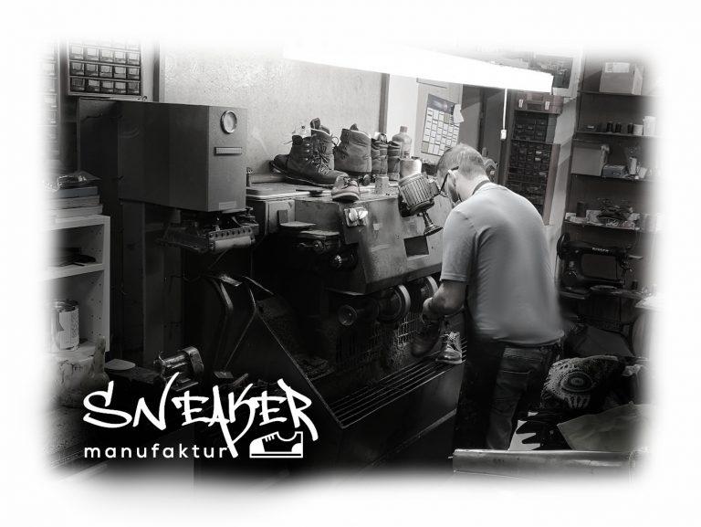 Der Sneakermeister der Sneakermanufaktur aus Linz!